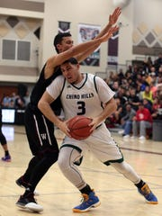 Chino Hills' LiAngelo Ball in action against Woodcreek
