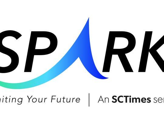 Spark logo. An SCTimes series