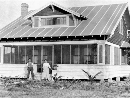 The home of Riley and Pearl Christensen, 649 St Lucie