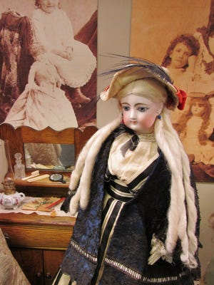 The Prairie Rapids Doll Club of Iowa will be presenting its collection of 700 French and German dolls at the Wilder Museum in Strawberry Point, Ia., on Saturday, May 28. The museum is featuring a diverse selection of dolls manufactured between the middle 1700s and 1980s. Open daily from Memorial Day through Labor Day. Admission is $7 for adults and discounted for children and families. www.wildermuseum.org.
