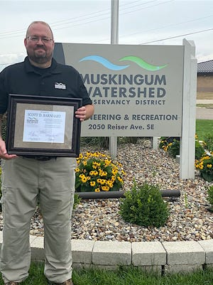 Scott Barnhart, Chief of Recreation/ Chief Ranger for the Muskingum Watershed Conservancy District (MWCD), served his last day on Friday, July 31, 2020 after more than 31 years of exemplary service.