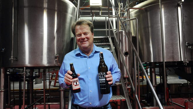Dean Stalheim at Fernson Brewing Company on Wed., Jan. 14, 2015.  Stalheim is former co-owner of Sioux Falls Brewing Co., a restaurant and brewery that operated from 1995 to 2003.