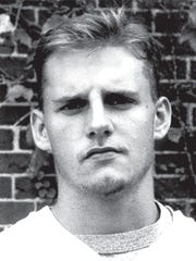 Brian Daboll from his days on the University of Rochester football team.