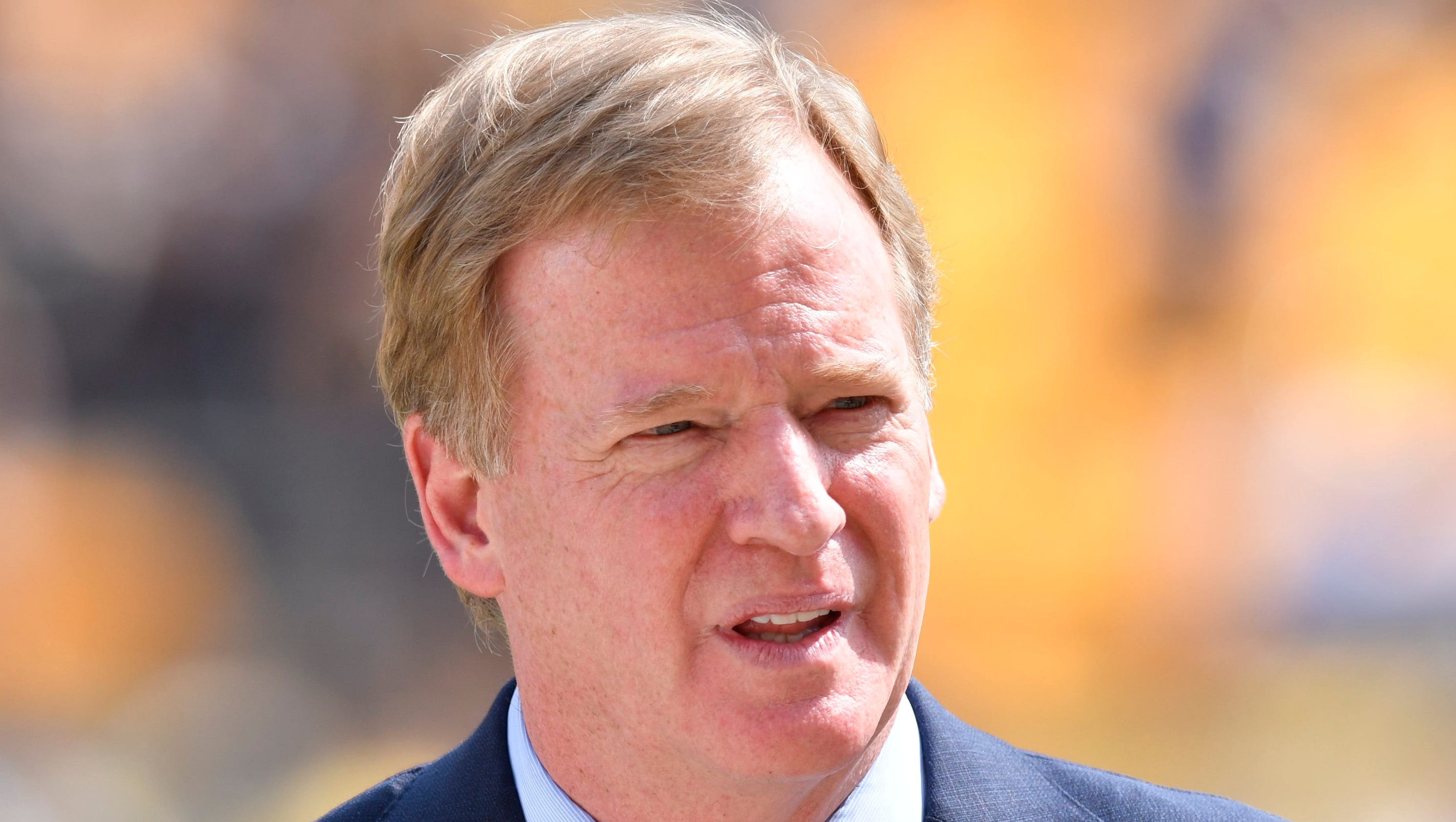 Roger Goodell is sticking around as commissioner even if he shouldn't