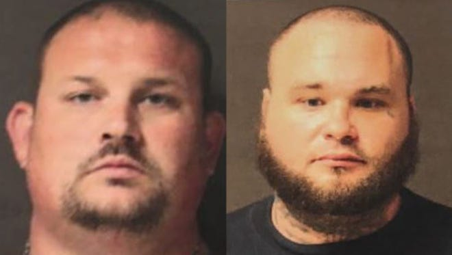 Beau Corder and Erick Schermerhorn (right) were indicted Thursday for first-degree murder and other charges.
