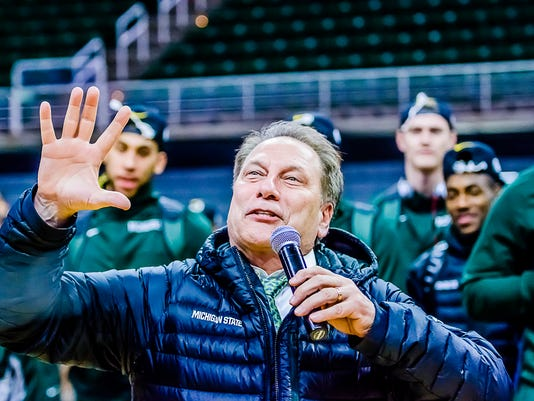 Spartans Return from Elite 8 Win