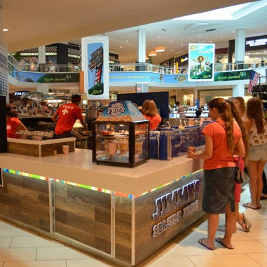 An example of a Jimmy's Seaside Fries restaurant, a chain opening by Black Friday at The Empire Mall.