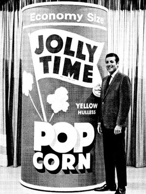 "Jolly Time Pop Corn on ""Let's Make a Deal."""