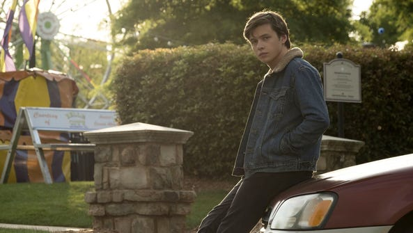 Nick Robinson plays a teen wrestling with coming out