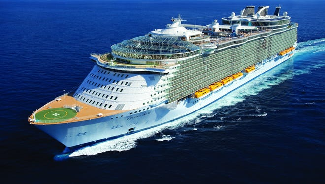 The Royal Caribbean International Oasis of the Seas will be based at Port Canaveral starting Saturday.