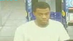 Surveillance image of the suspect who tried to pay for merchandise with a counterfeit $20 bill at the Walgreen's at 1930 Kings Highway in Port Charlotte.