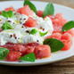 Summer on a plate: watermelon burrata salad
