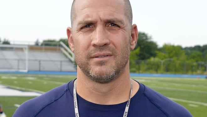 McDowell football coach Brad Orlando