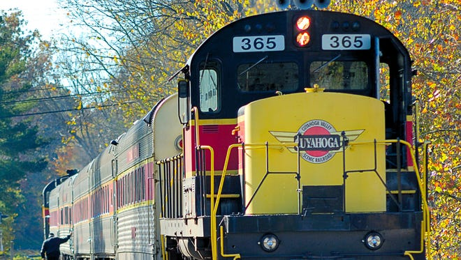 Perhaps one of the most unique ways to get around a national park is onboard a train, but that's just what you can do on the Cuyahoga Valley Scenic Railroad.