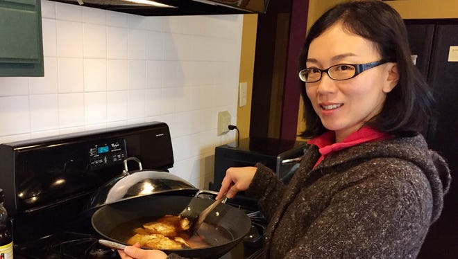 Rupei Watkins of Evansville explained how Chinese people use every day foods to fight off illness such as winter colds -- in the most delicious way possible.