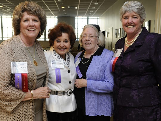 Patricia Pierce, Yvonne Wood, Martha Craig Daughtrey