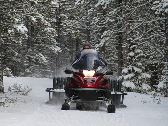 The Silver Crest Trails Association grooms the cross