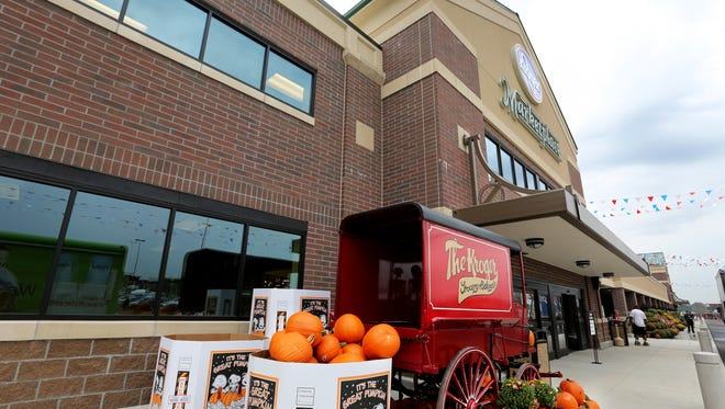 The new Oakley Kroger Marketplace opens its door Thursday. T
