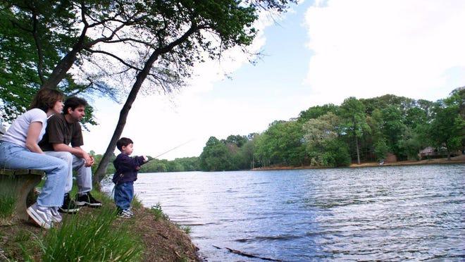 Lake Topanemus in Freehold Township.