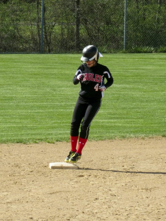 Dover senior Alyssa Lawton was a GameTimePA.com honorable mention All-Star outfielder in 2015.