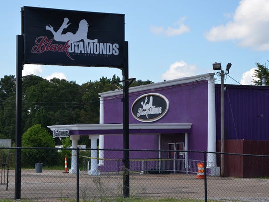 Black Diamonds Gentlemen's Club on Parcel Drive in Jackson, Miss.
