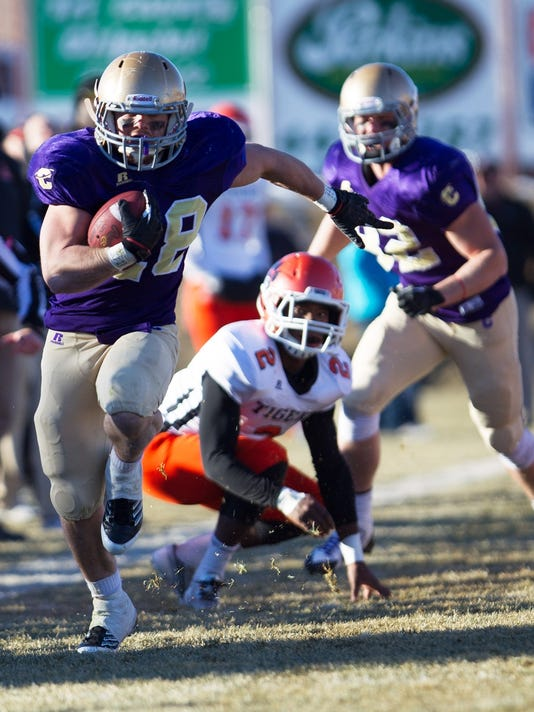 College Football Carroll College Wins Frontier Title