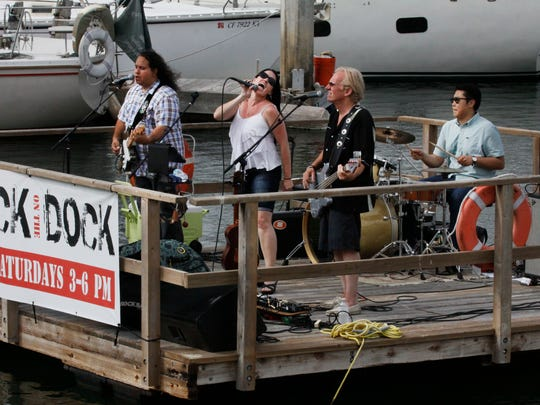 Last year's Rock on the Dock concert series at Ventura Harbor started off with Carmen and the Renegade Vigilantes. Another series featuring bands performing on a floating dock will start in September.