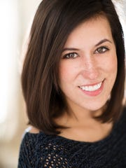 Karina Brazas, soprano and first-year resident artist for Shreveport Opera Xpress.