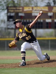 Former Golden West High School left-handed pitcher Troy Stainbrook was drafted on Wednesday by the Washington Nationals.