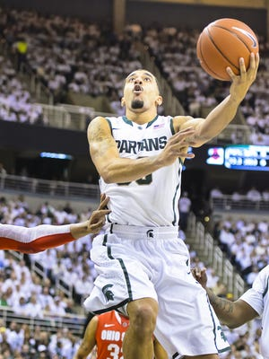 Brandon Wood will lead a number of former MSU stars in The Basketball Tournament this summer. The Spartan Heroes team will be competing for a $2 million, winners-take-all purse in the March Madness-style tournament.