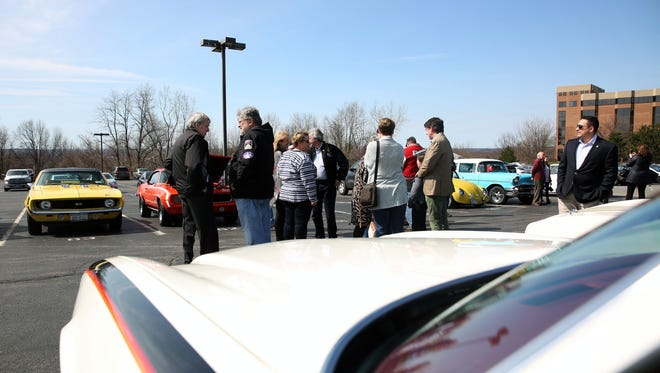 Friends and family of the late Brock Yates gathered at Woodcliff Hotel and Spa in Perinton to celebrate Yates' life. Yates created the Cannonball Run race across America. which has now turned into the One Lap of America race. The gathering took place on Sunday, April 9, 2017.