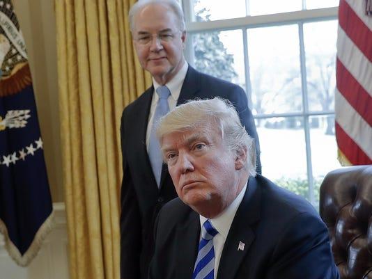 Donald Trump,Tom Price