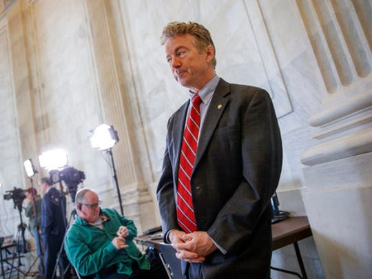 Sen. Rand Paul, R-Ky., a vociferous opponent of the
