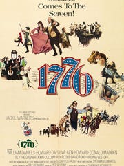 """""""1776"""" will be presentedon Tuesday, July 3, at State Theatre New Jersey in New Brunswick."""