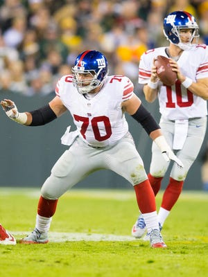 Former CSU star Weston Richburg is entrenched as the starting center for the New York Giants.