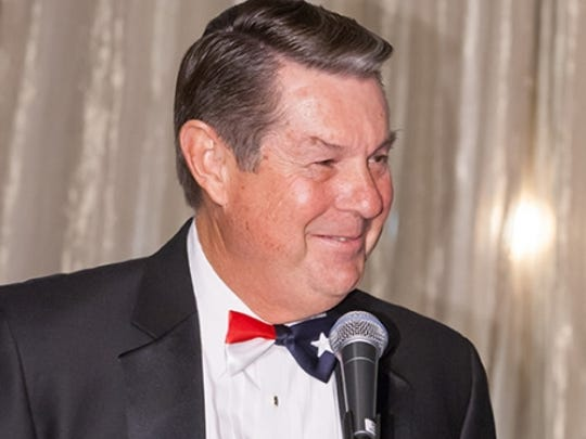 Burt Blacksher , El Paso Housing Authority board chairman, wore a Texas bow tie to a New York City awards ceremony in December.