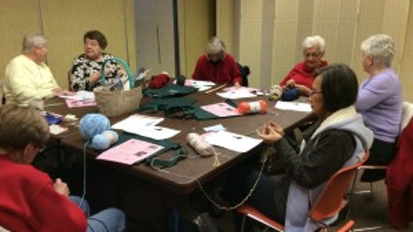 On Thursday, June 4, I'll be knitting with the Bridgewater