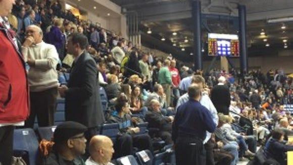 The 2015 Boys Basketball SCT Final at Monmouth University on Friday, Feb. 27 - Sherlon Christie/Staff Photographer