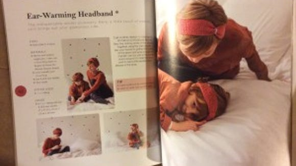 My mother says I need a headband, so I'm going to make this one this winter.