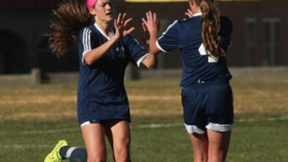 Randolph girls soccer file photo