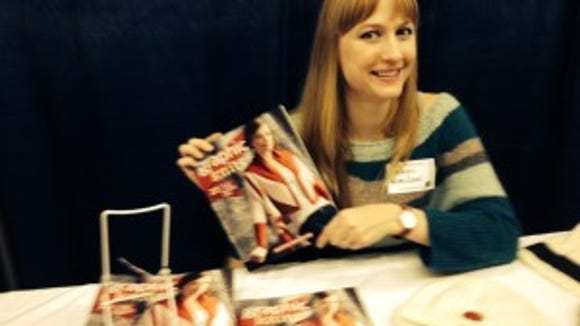 "It was very gratifying to meet Alexis Winslow and tell her how much I enjoyed ""Graphic Knits."""