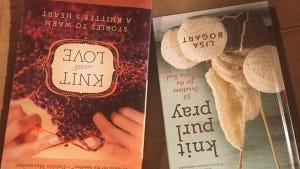 "Lisa Bogart, not the one from Bound Brook, has written a new book of devotionals, ""Knit, purl, pray."" She also wrote ""Knit with Love"" about charity knitting."