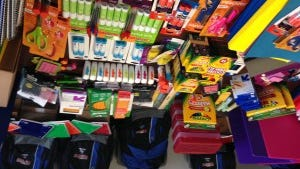 Starbucks and its customers helped provide supplies to York City students this year.
