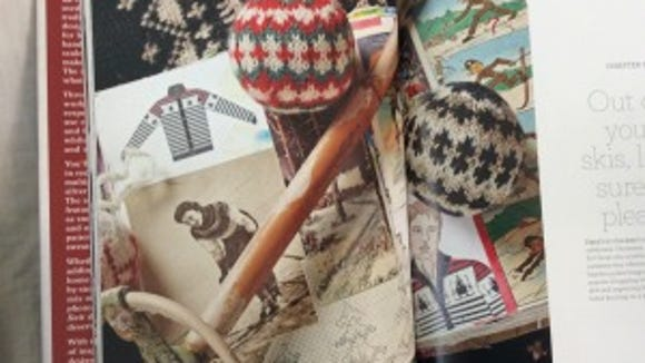 Some of the Christmas balls from Arne & Carlos' book are geometric patterns, like these.