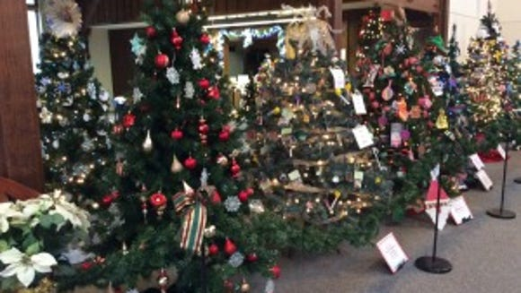 The 2014 Festival of Trees at the Somerset County Parks Commission in Basking Ridge has raised awareness and funds for many causes, including the veterans at Valley Brook Village and global literacy.