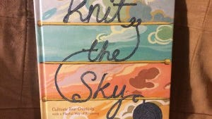 """Knit the sky,"" by Lea Redmond aims to get you looking at knitting in a whole new way."