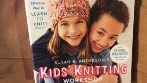 Susan B. Anderson has a terrific book about teaching knitting to kids.