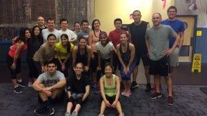 Fitness Class Club (Photo courtesy of Elena Zazanis)