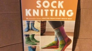 Ann Budd has a new collection of sock patterns from some of her favorite designers, and all of them are no traditional.