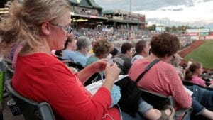 Please come to the Stitch 'N Pitch game at TD Bank Ballpark in Bridgewater on Saturday, July 28 at 7:05 p.m.